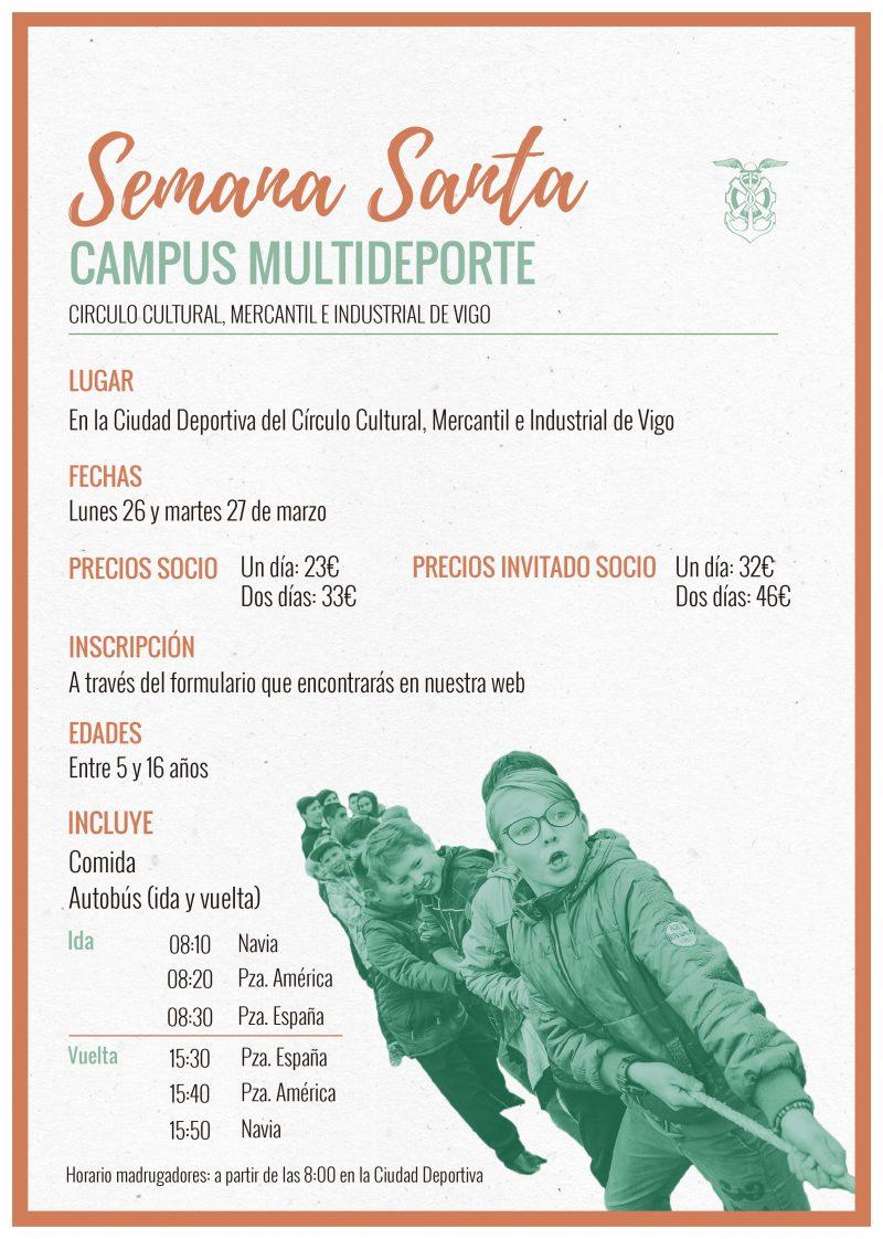 Campus Multideporte Semana Santa