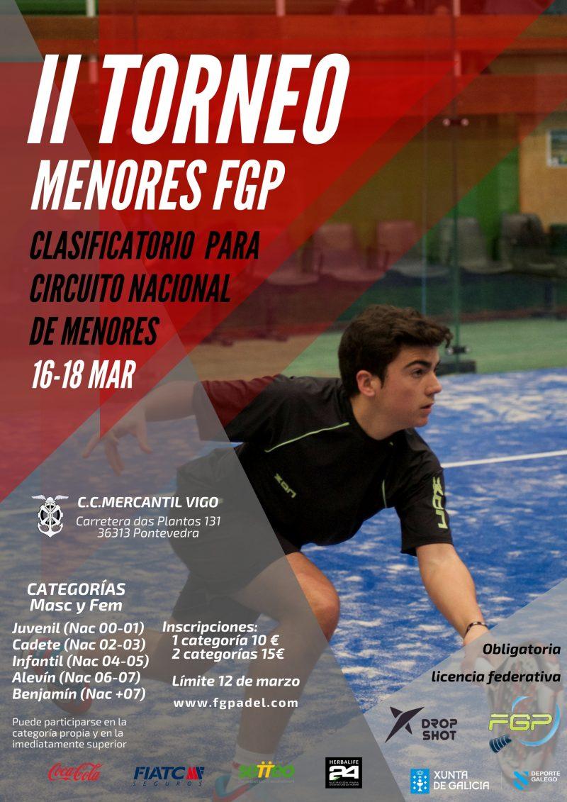 2º Torneo de Menores 2018 Ciclo Clasificatorio para el Circuito Nacional