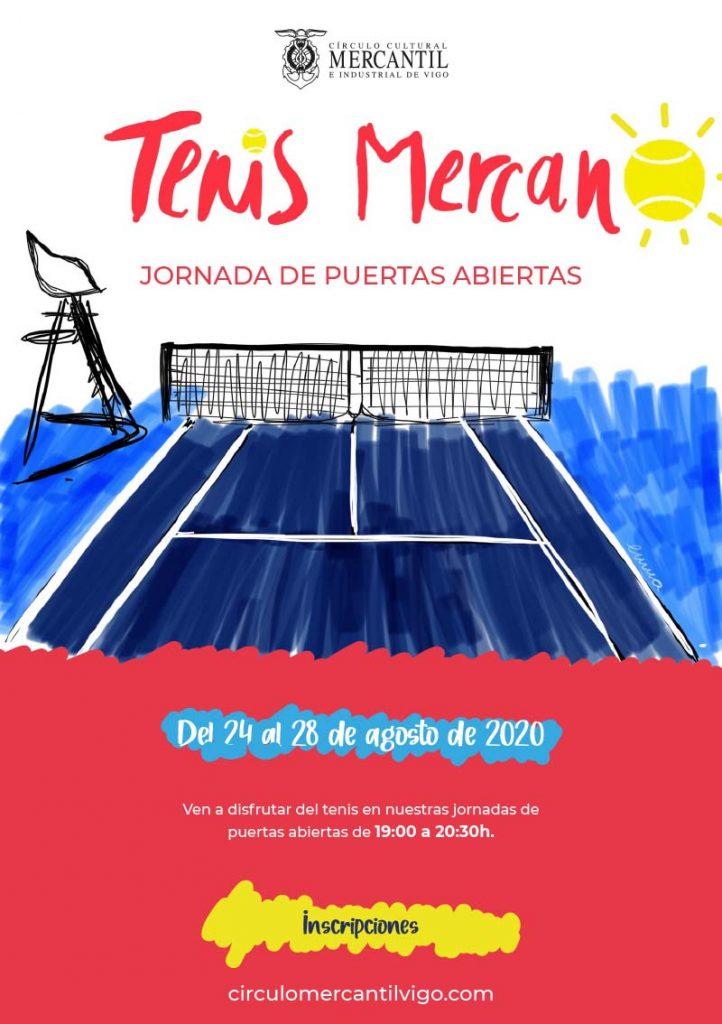 ESCUALA DE TENIS MERCANTIL DE VIGO. JORNADA DE PUERTAS ABIERTAS