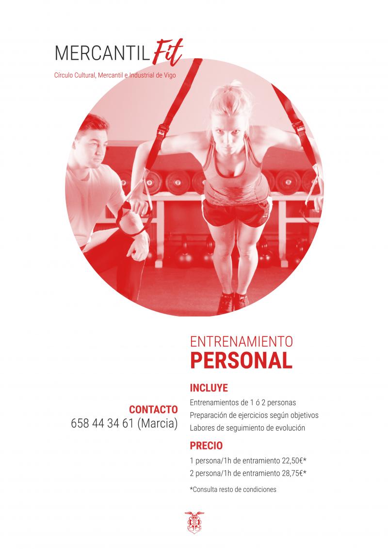 Nuevo servicio de entrenamiento personal