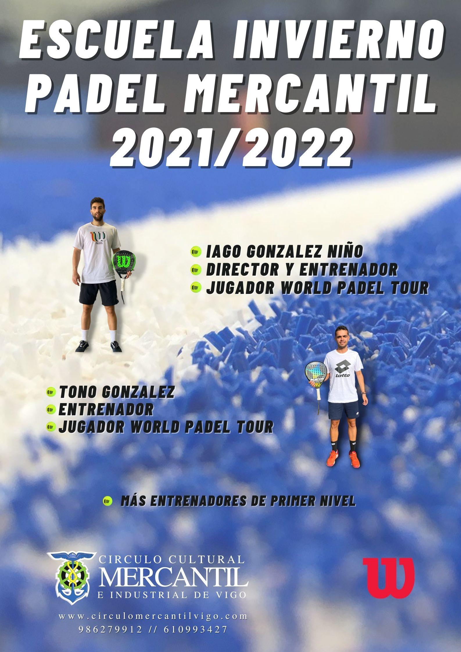 Escuela Invierno Padel 21-22