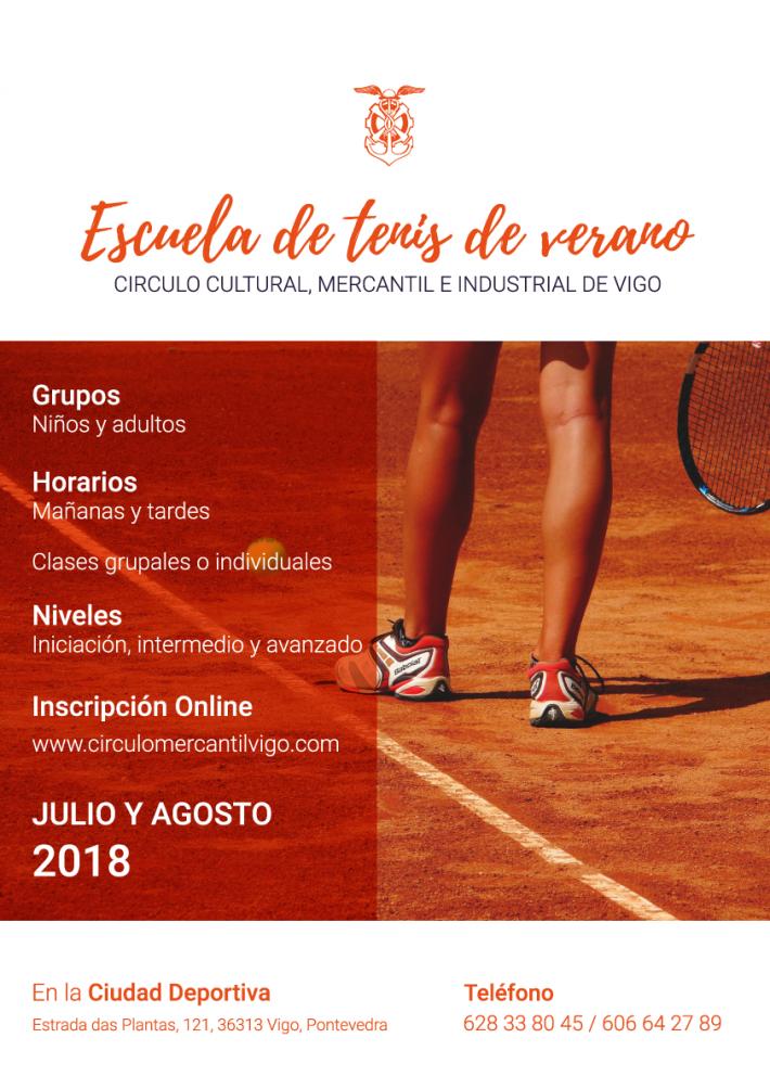 Abierta la inscripción de la Escuela de Tenis