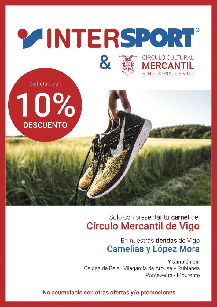 Descuento en InterSport para los socios del Mercantil