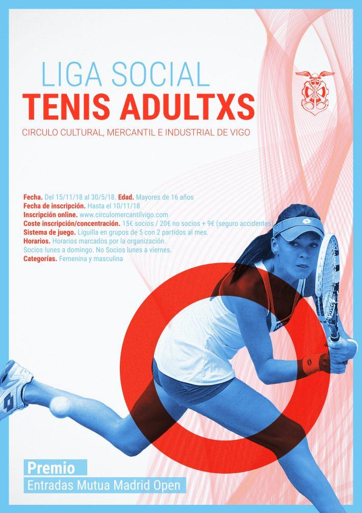 Liga social de tenis del Mercantil