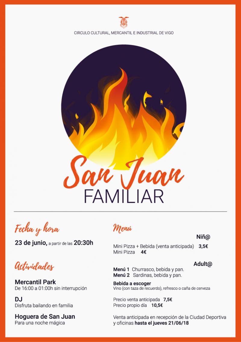 Celebra San Juan en el Mercantil