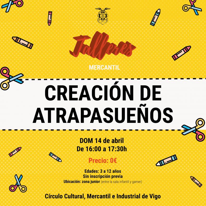 Taller «Creación de Atrapasueños»