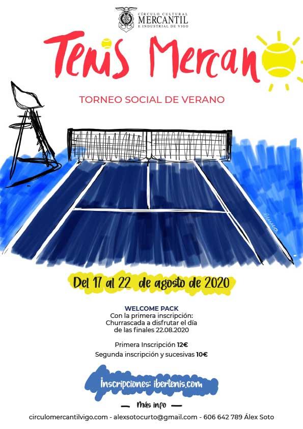 Torneo Social tenis verano 2020