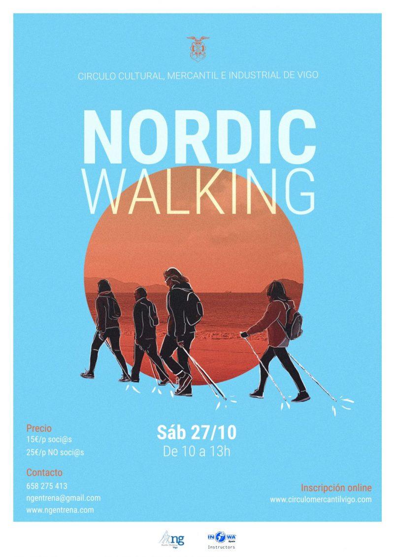 Este 27 de octubre prueba las ventajas del Nordic Walking