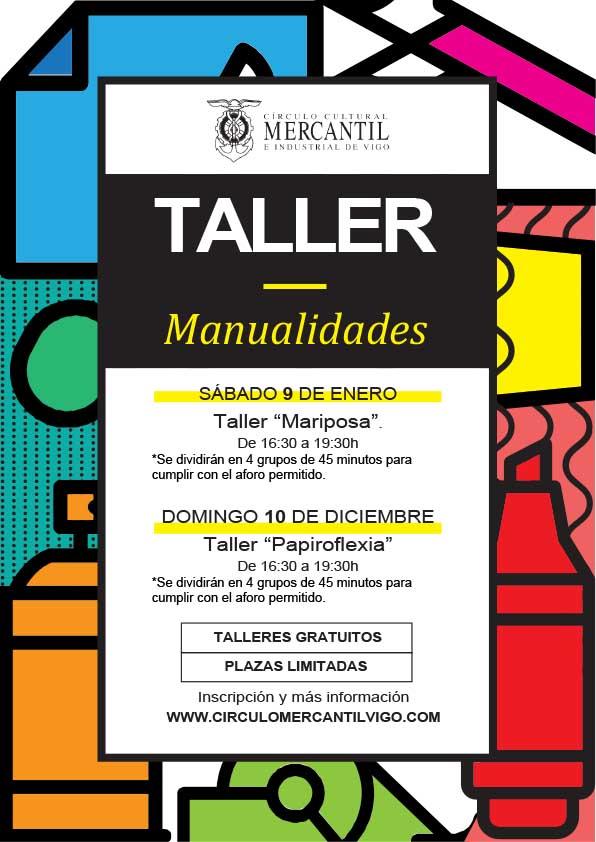 Cçírculo mercantil Vigo taller manualidades enero