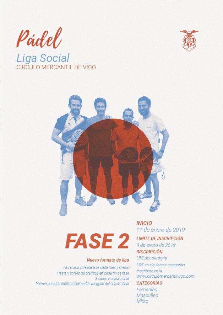 FASE 2 LIGA SOCIAL DE PÁDEL