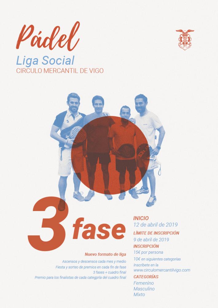 3ª Fase Liga Social de Pádel