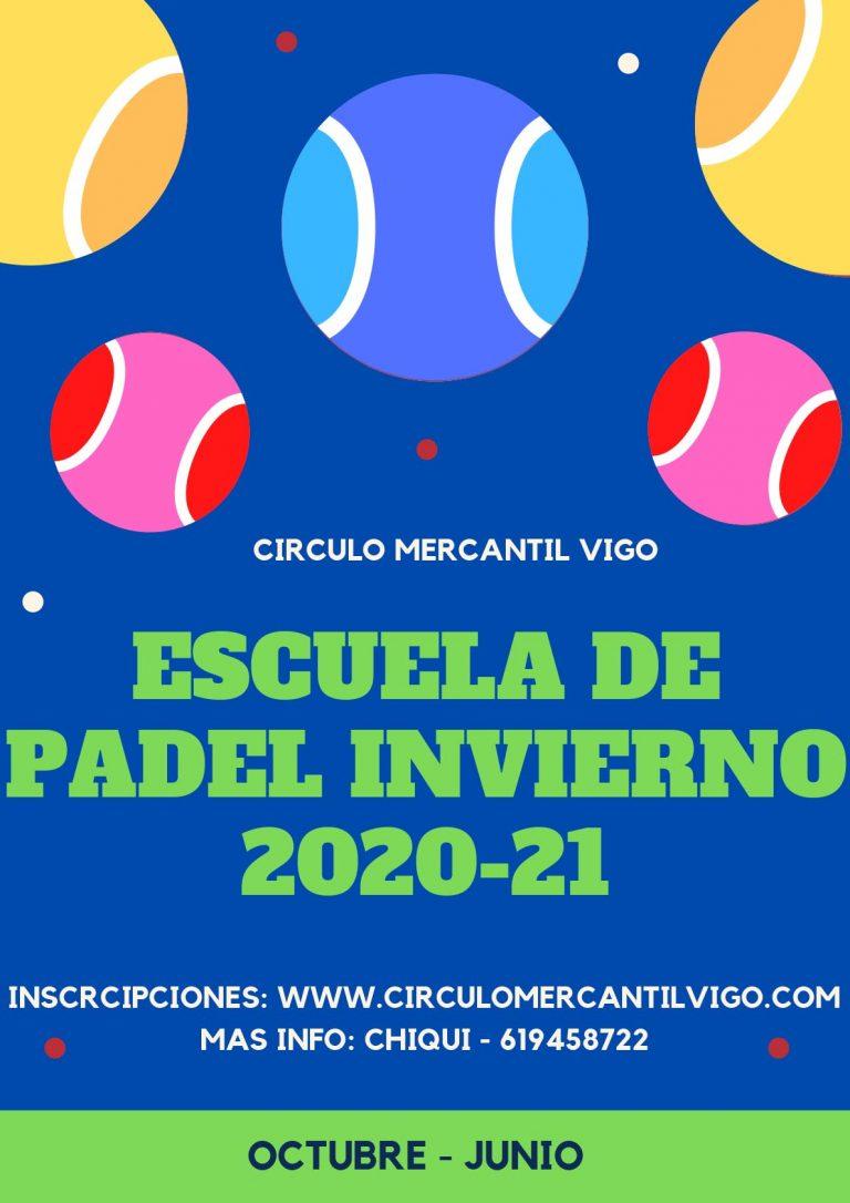 ESCUELA DE INVIERNO DE PADEL