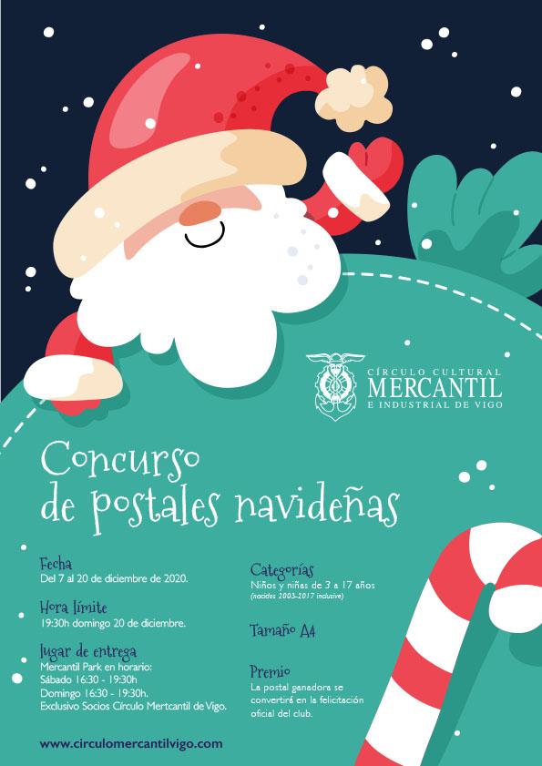 mercantil concurso postales navidad