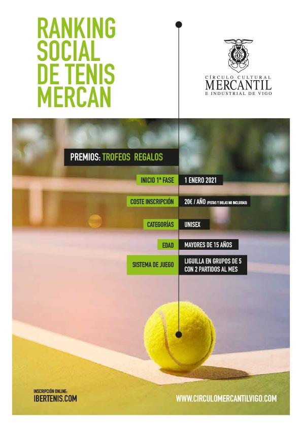 mercantil de Vigo ranking social tenis