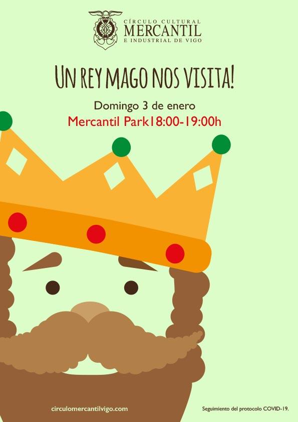 mercantil de vigo visita Reyes Magos