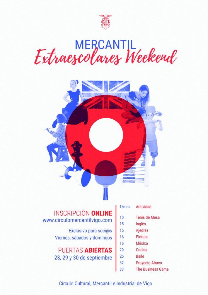 Apúntate a nuestras Extraescolares Weekend