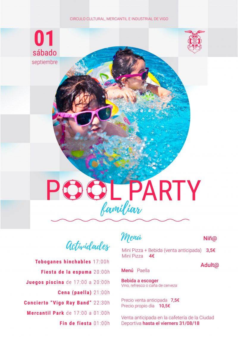 ¡Te esperamos en la Pool Party, la gran fiesta del verano en el Mercantil!