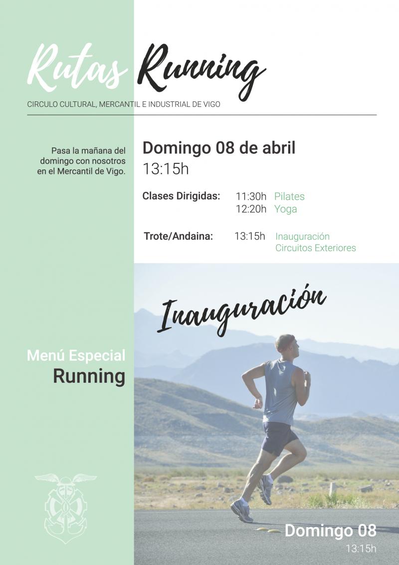 Inauguración Rutas Running