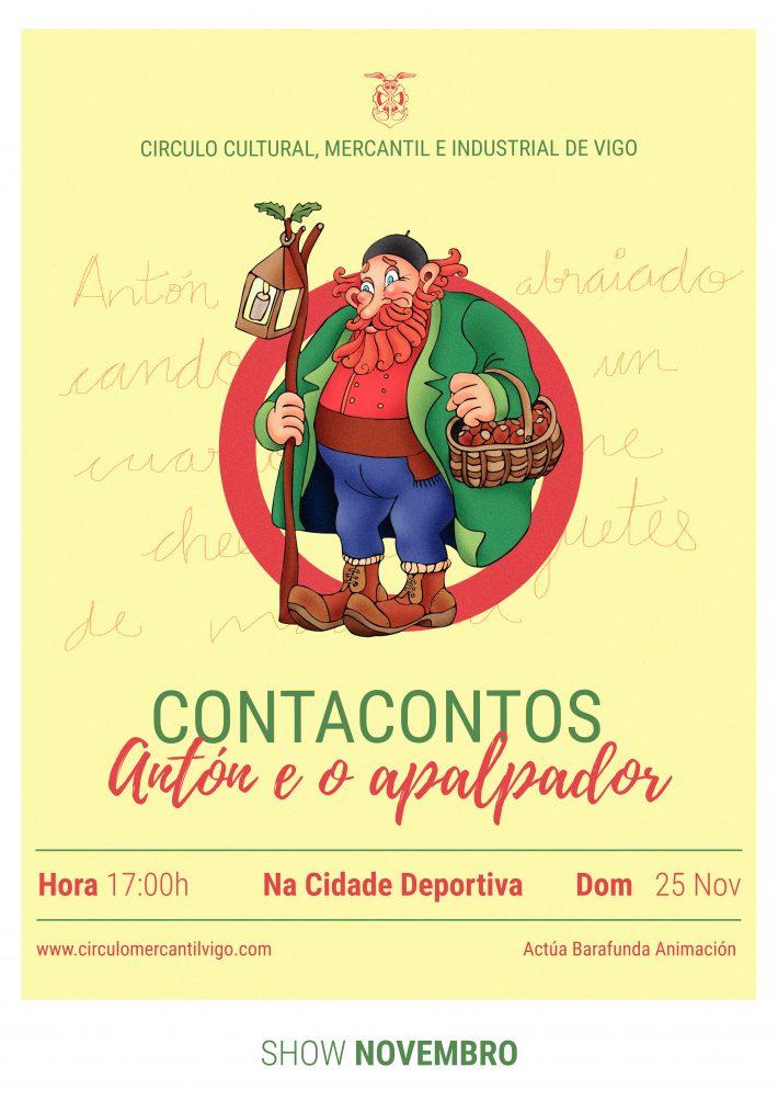 Sesión de cuentacuentos navideños el 25 de noviembre