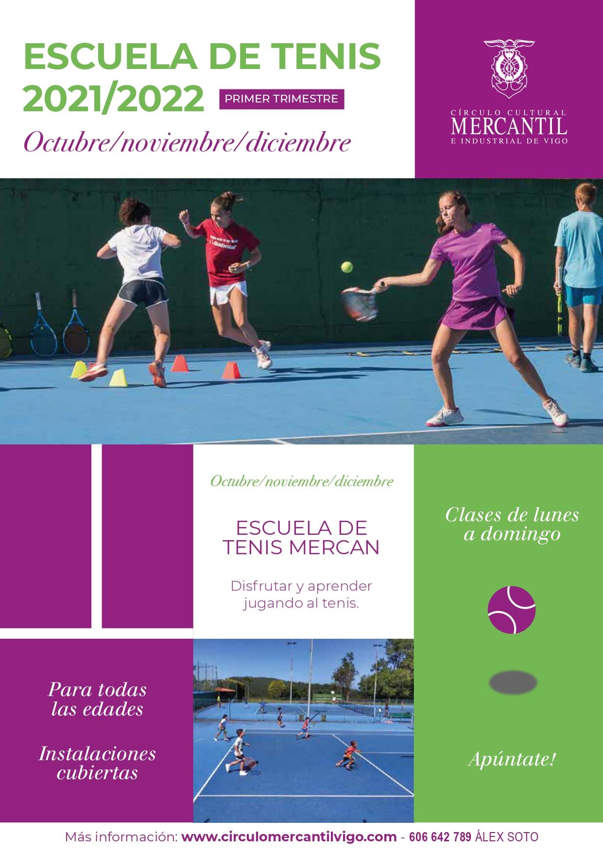 Escuela Tenis Invierno 2021